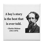 Charles Dickens 15 Tile Coaster