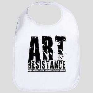 Art is Resistance Bib