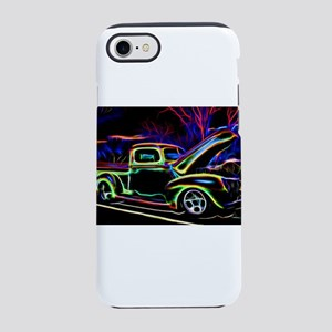 1940 Ford Pick up Truck Neon iPhone 8/7 Tough Case