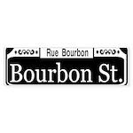 Royal Street New Orleans Bumper Sticker