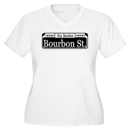 Royal Street New Orleans Women's Plus Size V-Neck