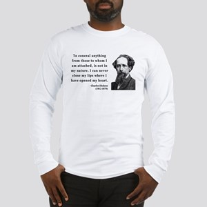 Charles Dickens 12 Long Sleeve T-Shirt