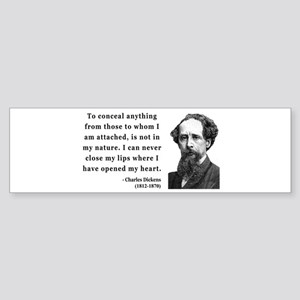Charles Dickens 12 Bumper Sticker