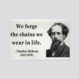 Charles Dickens 11 Rectangle Magnet