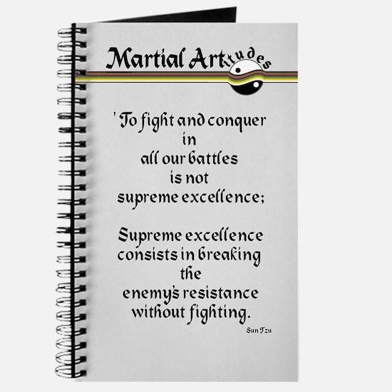 Martial Artitude Sun Tzu Journal