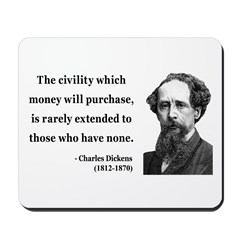 Charles Dickens 10 Mousepad