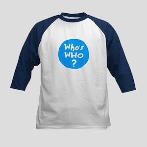 Who's WHO? Kids Baseball Jersey