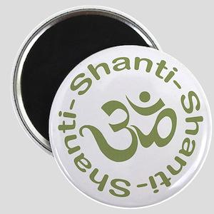 Om Shanti Shanti Shanti Magnet