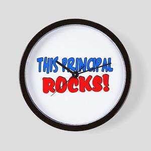 This principal ROCKS Wall Clock