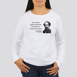 Charles Dickens 8 Women's Long Sleeve T-Shirt