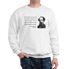 Charles Dickens 6 Sweatshirt