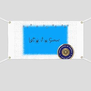 let it snow uscg Banner