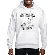 My Way Garfield Hooded Sweatshirt
