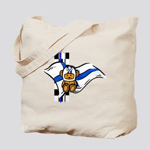 Finland Racing Tote Bag