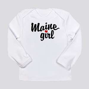 Maine Gir Long Sleeve T-Shirt
