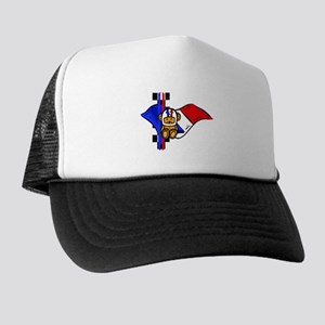 French Racing Trucker Hat