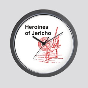 Heroines of Jericho Wall Clock