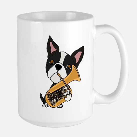 Boston Terrier Tuba Mugs