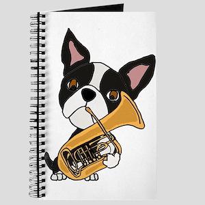 Boston Terrier Tuba Journal