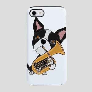 Boston Terrier Tuba iPhone 8/7 Tough Case
