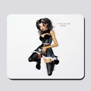 I wanna kiss you Mousepad