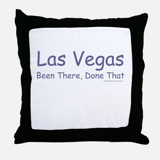 LV Been There, Done That - Throw Pillow
