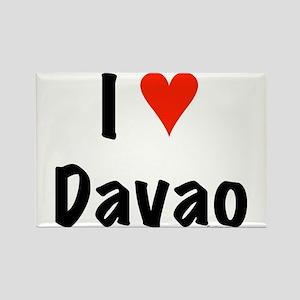 I love Davao Rectangle Magnet