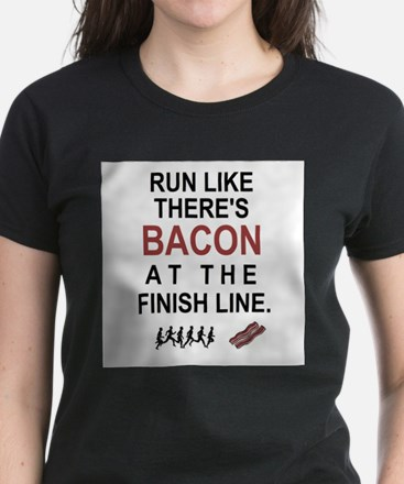 Will Run for Bacon T-Shirt