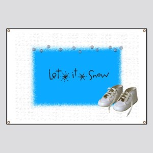 let it snow baby Banner