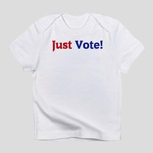 Just Vote White T-Shirt