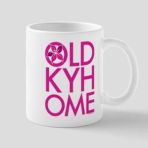 Pink OLD KY HOME Mug