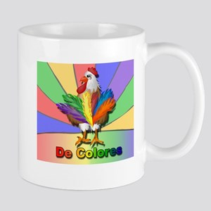 Rooster Tail De Colores Mug
