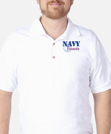 Navy Fiancee Golf Shirt