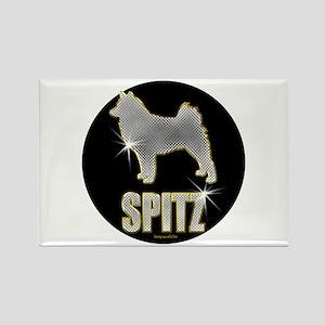 Bling Spitz Rectangle Magnet (10 pack)