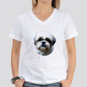 Shih Tzu Head Women's Dark T-Shirt