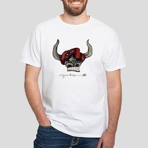 Rangzen Yak Head - White T-Shirt