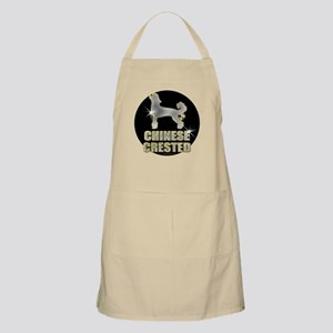 Bling Chinese Crested BBQ Apron
