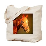 Horse Poly Art Tote Bag