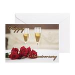 Masonic Anniversary card Greeting Cards (Pk of 10)