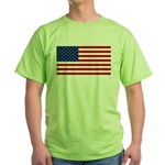 Red White and Blue Green T-Shirt