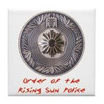 Rising Sun Tile Coaster