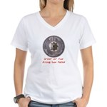 Rising Sun Women's V-Neck T-Shirt