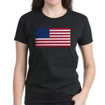 Red White and Blue Women's Dark T-Shirt