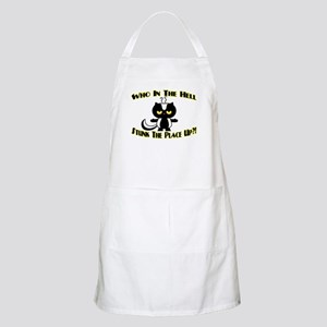Who In The Hell BBQ Apron