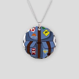 GAP YEAR Necklace Circle Charm