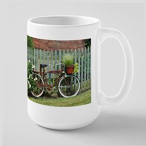 Vintage Floral Bicycle Stainless Steel Travel Mugs