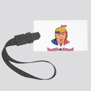 Donald Trump 2020 Independence D Large Luggage Tag