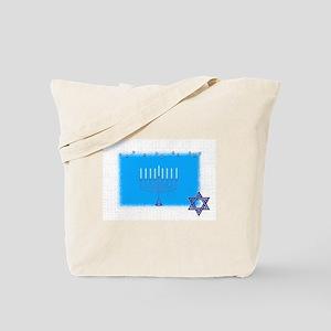 manorah star Tote Bag