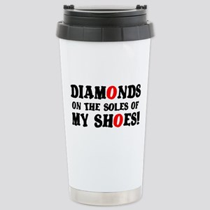 DIAMONDS ON THE SOLES OF MY SHOES! Small Mugs
