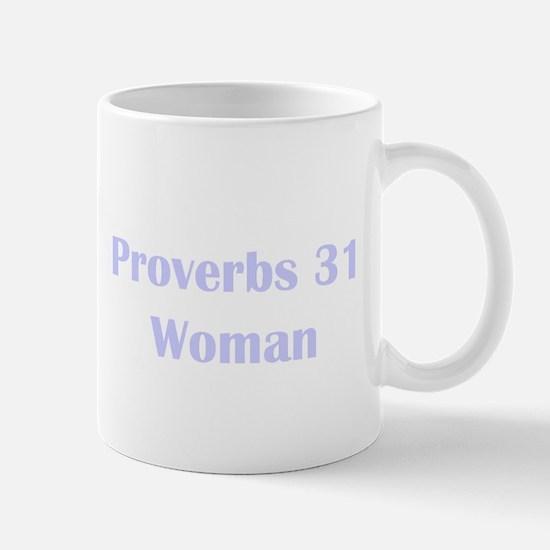 Lilac Proverbs 31 Woman Mug